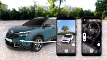 Drive to Store with augmented reality – the Citroën case