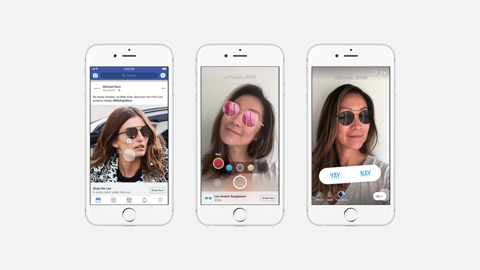 Facebook has made AR ads available through its Ad Manager